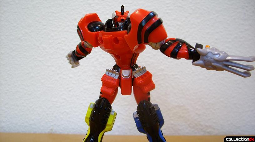Retrofire Jungle Pride Megazord- Savage Spin attack (5)