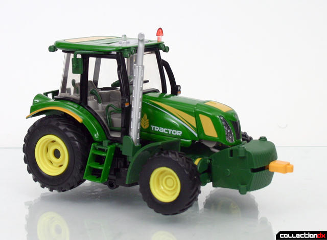 CT tractor front