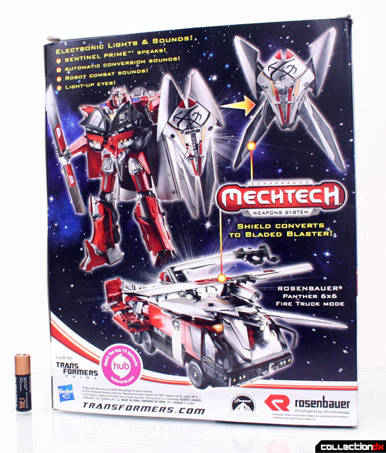 NEW AUTHENTIC Transformers Leader Sentinel Prime Dark of the Moon DOTM 2 DAY GET