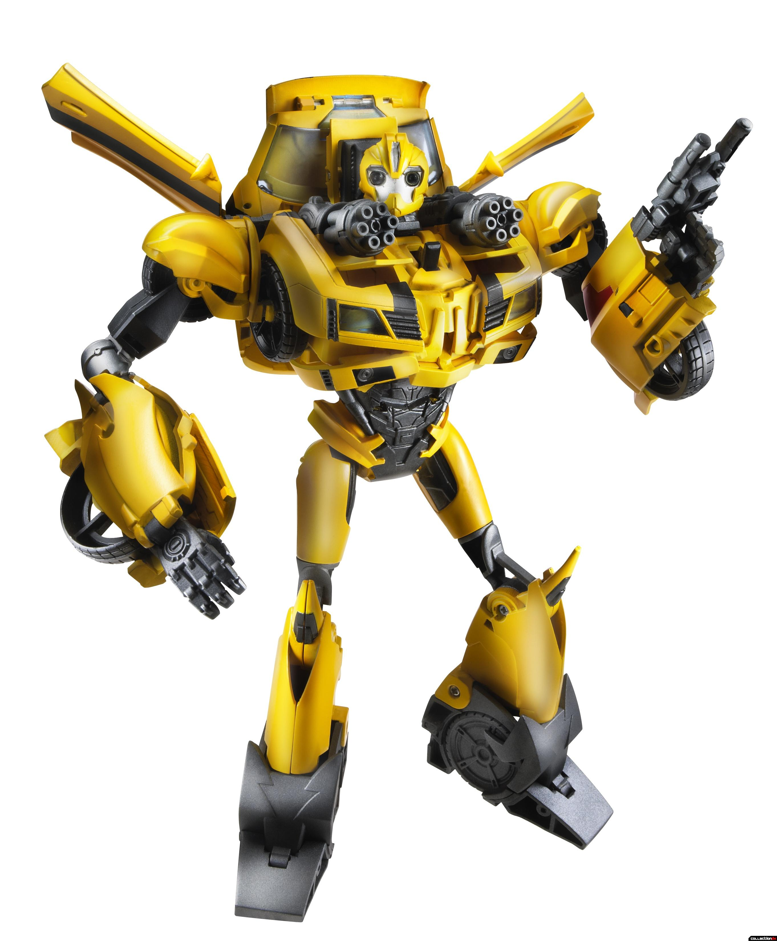 Transformers Prime Weaponizers Bumblebee (Robot battle mode) 38286