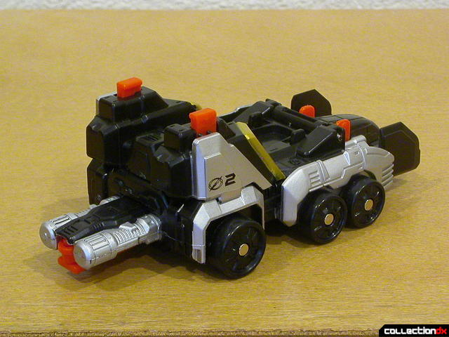 Speed Driver Zord (back)