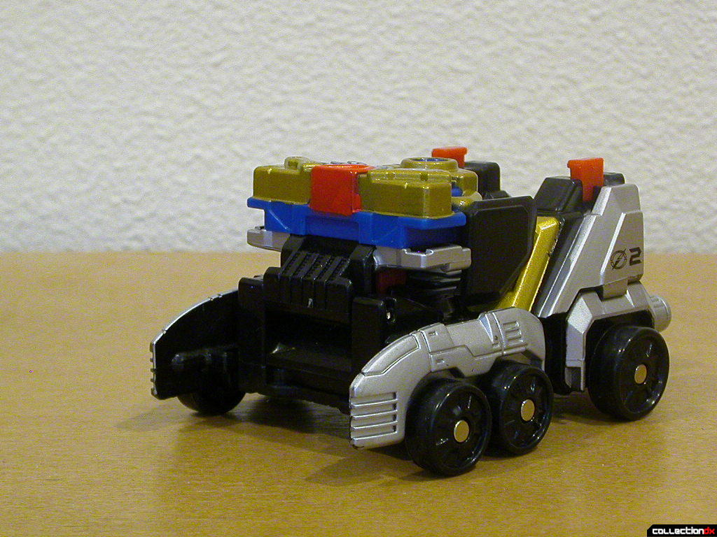 Speed Driver Zord- weapon turret raised