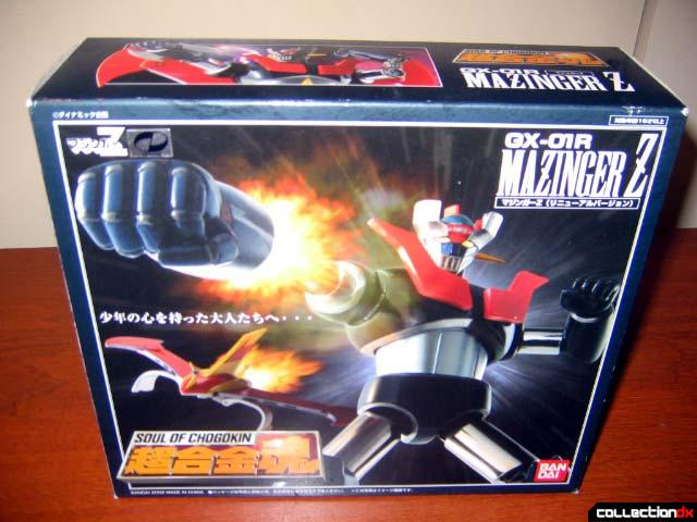 GX-01R Mazinger Z Renewal Version Box