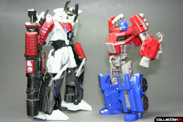 optimus prime fall of cybertron version collectiondx