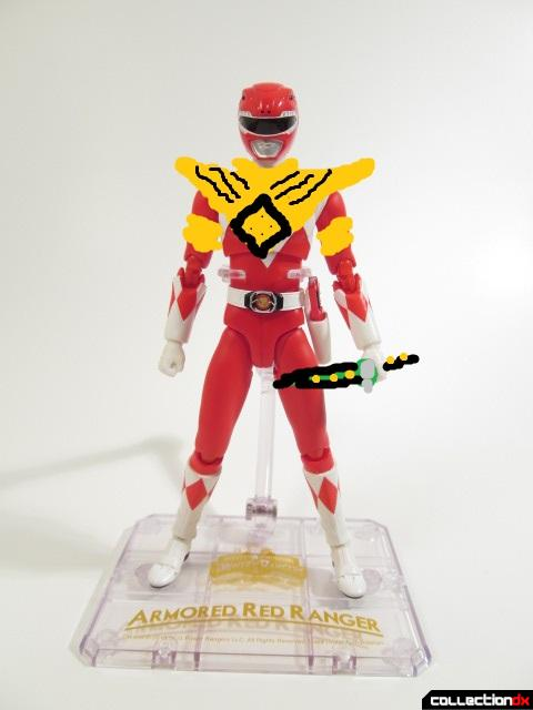armored red ranger