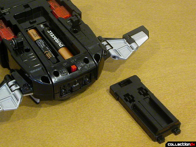 DX DekaWing Robo (battery compartment)