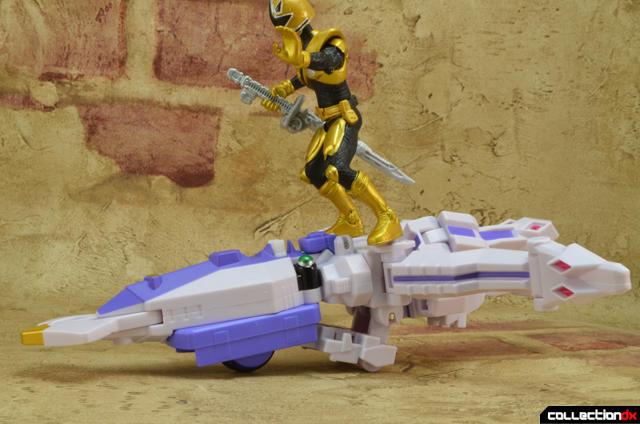 Bandai Power Rangers Samurai force Shinkenger DX Squid God Ika Action Figure NEW