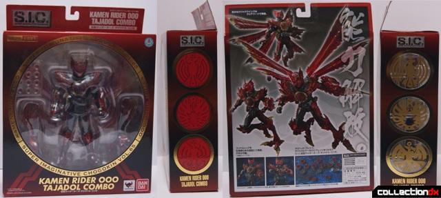 Kamen Rider OOO Tajadoru Combo | CollectionDX