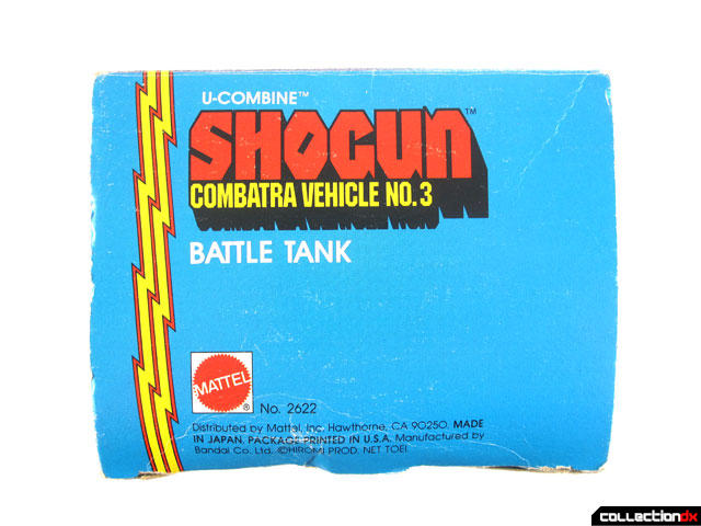 U-Combine Shogun Combatra Vehicle No. 3: Battle Tank