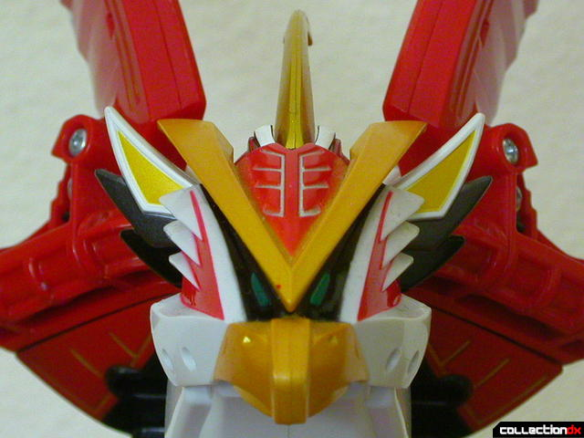 Power Animal Gao Falcon- head (front)