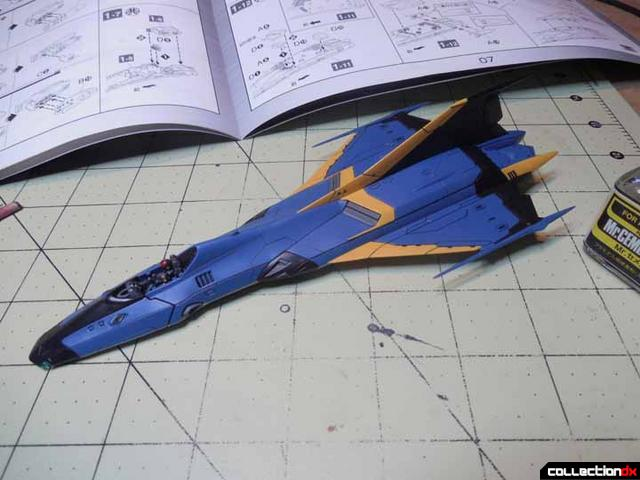 CF-wings glued