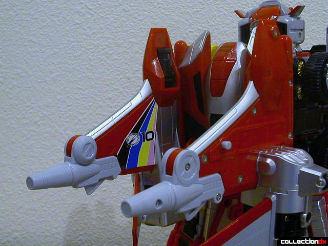 DaiBouken Buster Mode (double cannons detail)