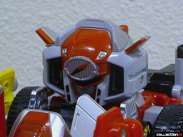 DaiBouken Buster Mode (head detail)
