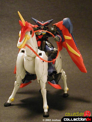 Master Gundam and Mobile Horse