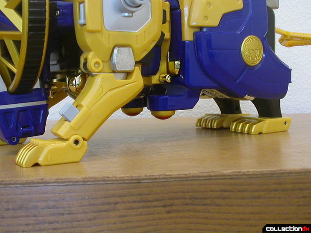 Shinobi Machine Hurricane Lion (leg detail)
