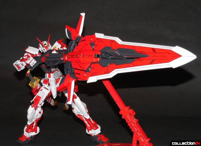 Master Grade Mbf P02 Gundam Astray Red Frame Collectiondx
