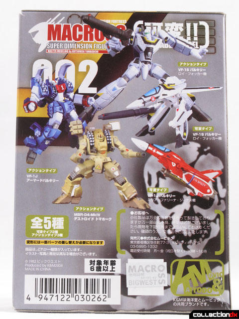 Macross Box Back