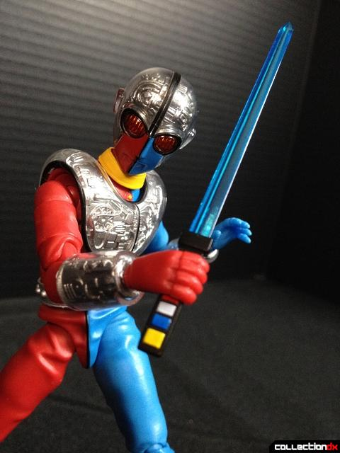 kikaida pose sword