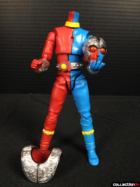 Kikaider 01 head off