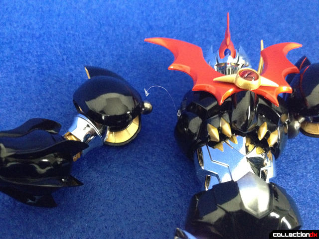 Mazinkaiser arms off