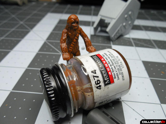 painting chewie