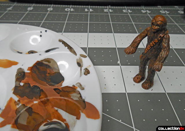 painting chewie 2