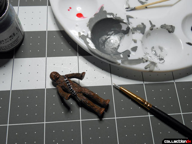 painting chewie 3