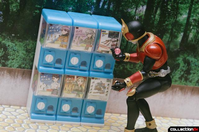 1//12 action figure accessories capsule toy machine Japan