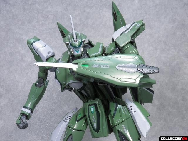 chogokin vf-27 new head plus 11