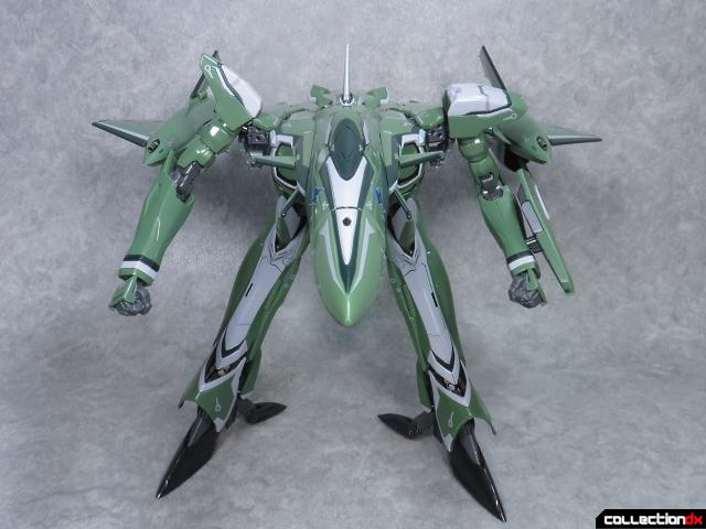 chogokin vf-27 new head plus 18