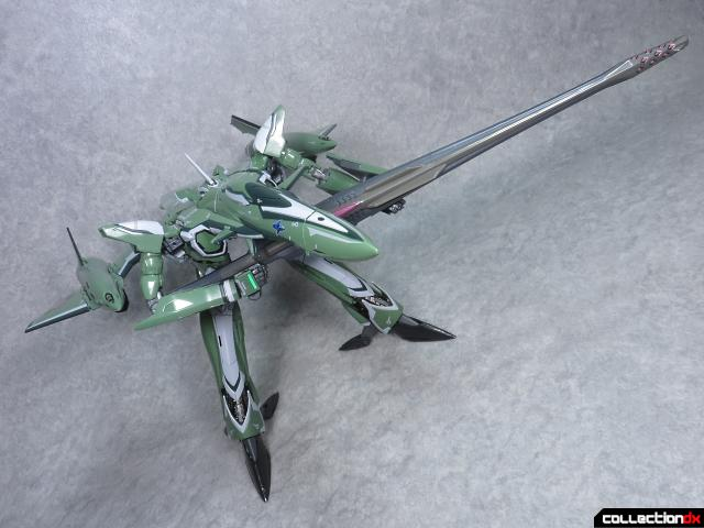 chogokin vf-27 new head plus 19