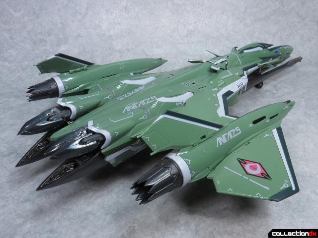 chogokin vf-27 new head plus 28