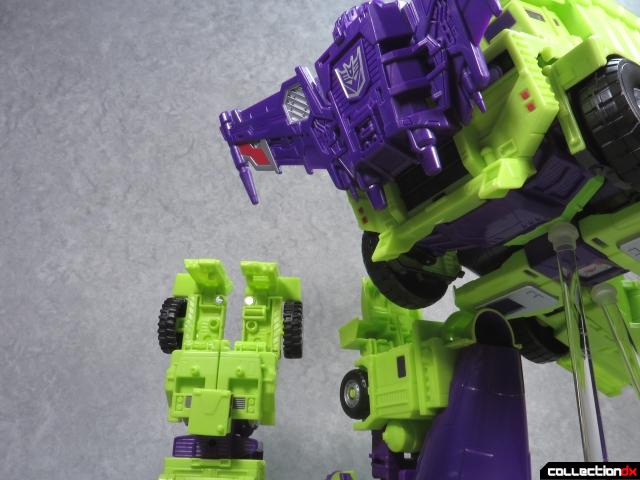 unite warriors devastator 64