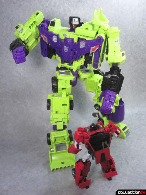 unite warriors devastator 87