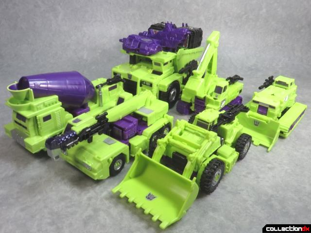 unite warriors devastator 98