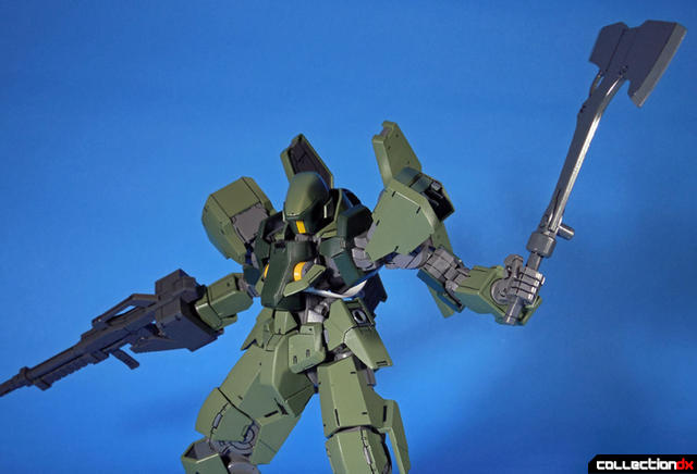 Graze axe and rifle