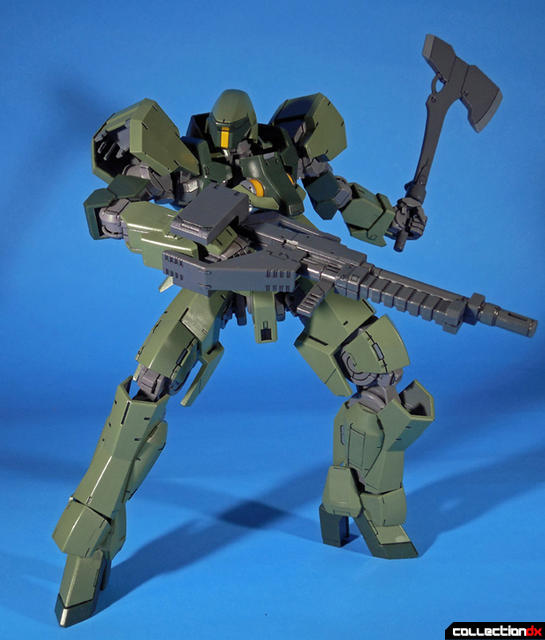 Graze rifle down