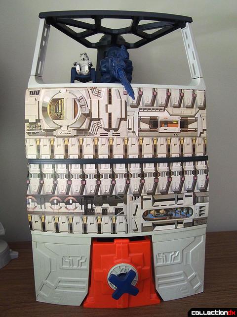 "NICE 4/"" Trash Compactor BLUE DOOR Death Star 1978 Playset Vintage Wars"
