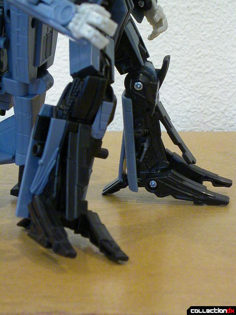 Decepticon Blackout- robot mode (legs posed)