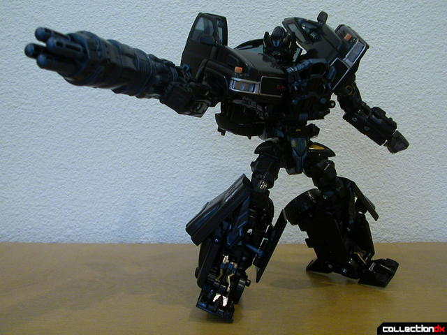 Autobot Ironhide- robot mode (posed with merged cannons)