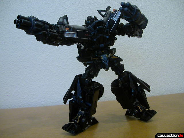 Autobot Ironhide- robot mode posed (2)