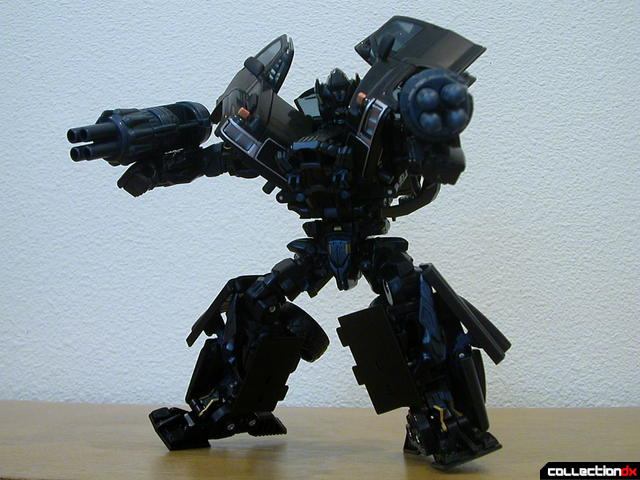 Autobot Ironhide- robot mode posed (3)