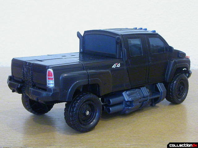 Autobot Ironhide- vehicle mode (back)