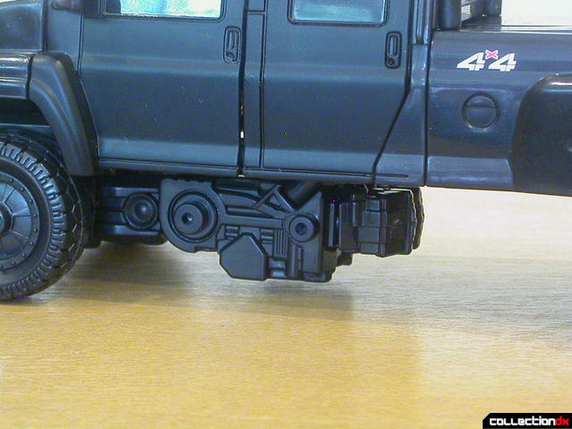 Autobot Ironhide- vehicle mode (cannons removed)