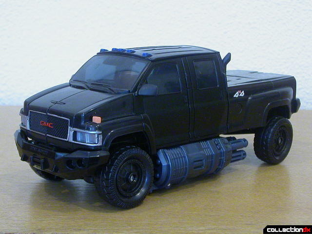 Autobot Ironhide- vehicle mode (front)
