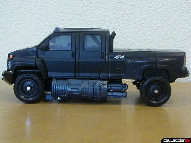 Autobot Ironhide- vehicle mode (left profile)