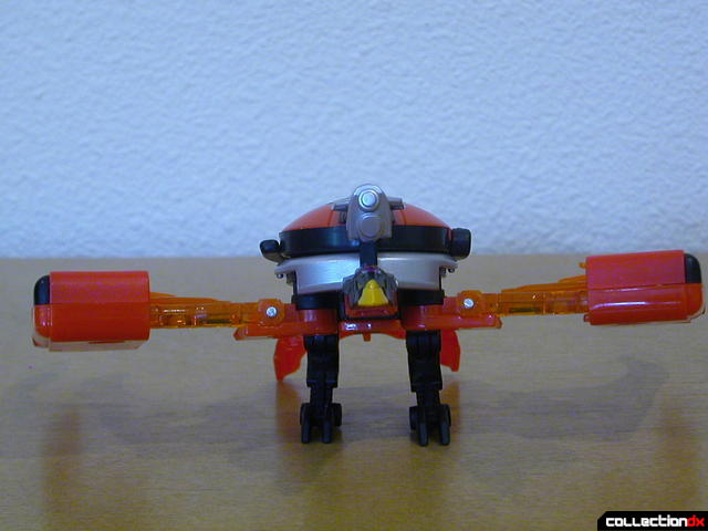 Decepticon Booster X10- beast mode (wings horizontal)