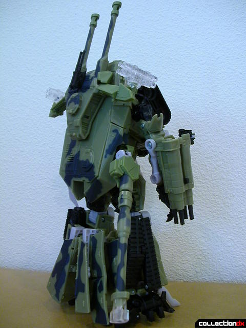 Decepticon Brawl- robot mode (both turrets in back)
