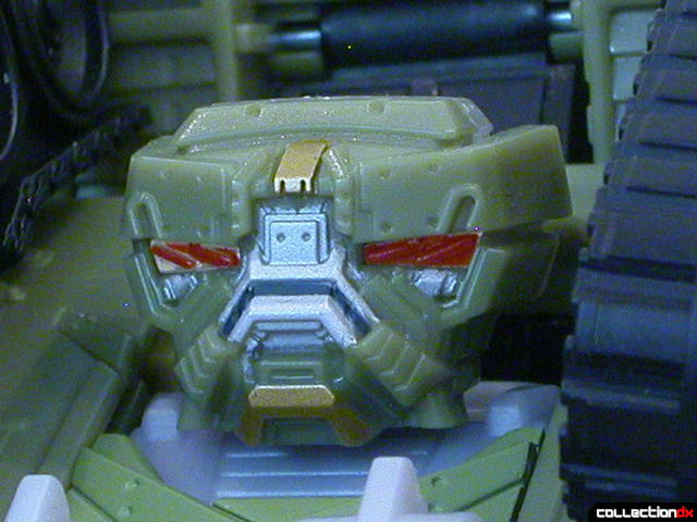 Decepticon Brawl- robot mode (head detail)