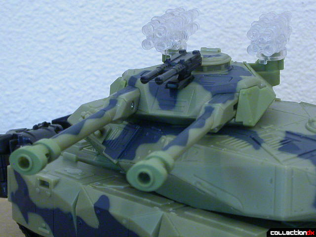 Decepticon Brawl- tank mode (secondary turret detail)